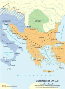 Südosteuropa um 500