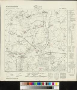 Meßtischblatt 3374 : Blütenau, 1940