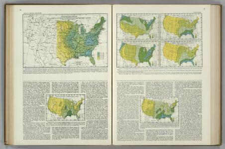 (Precipitation Maps).  Atlas of American Agriculture.