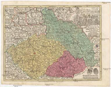 Regnum Bohemiae cum adiunctis ducatu Silesiae et marchionat. Moraviae et Lusatiae representans