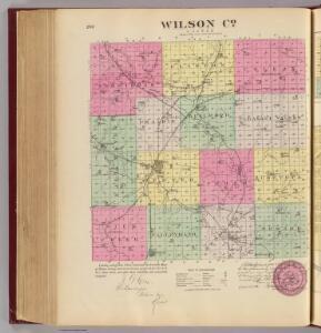 Wilson Co., Kansas.