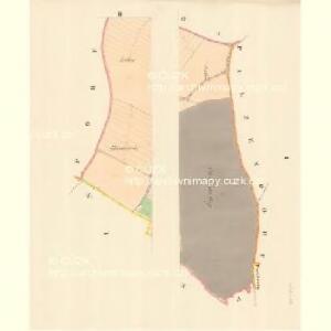Löschna - m1503-1-001 - Kaiserpflichtexemplar der Landkarten des stabilen Katasters