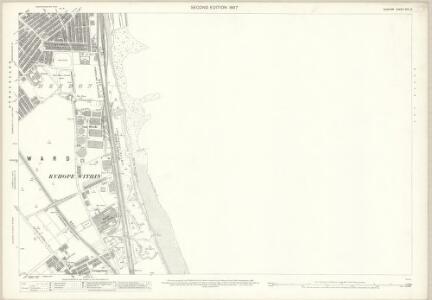 Durham XIV.3 (includes: Sunderland) - 25 Inch Map