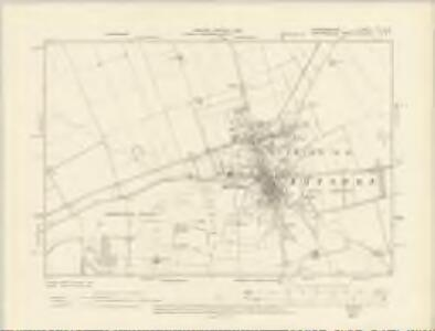 Cambridgeshire LVIII.SW - OS Six-Inch Map