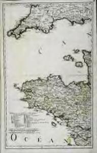 Karte von Frankreich in XVI Blättern, No. 1 und [No. 5]