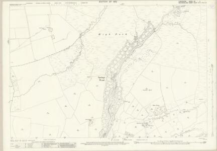 Lancashire XX.2 (includes: Burrow With Burrow; Casterton; Leck) - 25 Inch Map