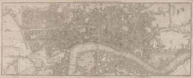 A PLAN of LONDON with the MODERN IMPROVEMENTS