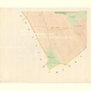 Unter Bojanowitz - m0481-1-011 - Kaiserpflichtexemplar der Landkarten des stabilen Katasters