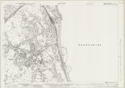 Cheshire XX.2 (includes: Marple) - 25 Inch Map
