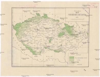 Mapa poněmčování Zemí českých