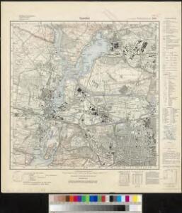 Meßtischblatt 1836 : Spandau, 1936