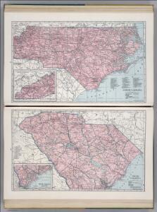 North Carolina.  South Carolina.