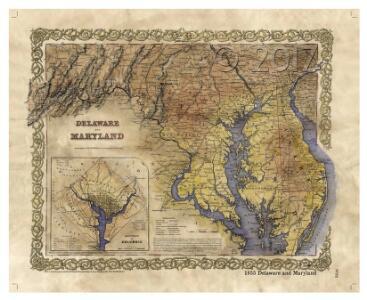 Delaware Maryland and Washington D.C