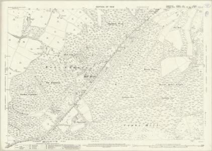 Hampshire and Isle of Wight LIII.6 & 10 (includes: Liss; Rogate) - 25 Inch Map