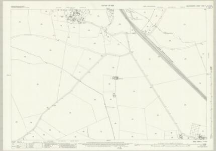 Bedfordshire XXIX.11 (includes: Houghton Regis; Luton; Sundon; Toddington) - 25 Inch Map