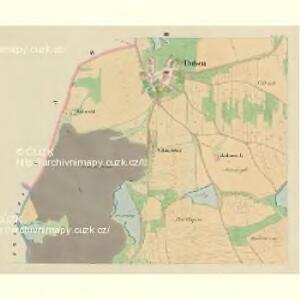 Duben - c1598-1-002 - Kaiserpflichtexemplar der Landkarten des stabilen Katasters