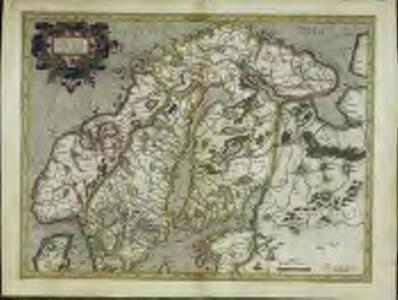 Svecia et Norvegia cum confinijs