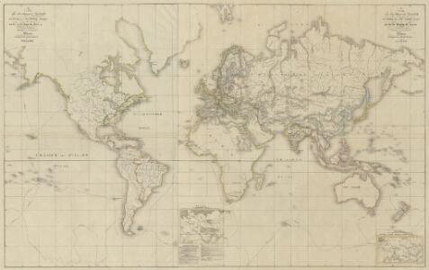 XII. Charte für die allgemeine Geschichte vom Anfange der österr. Erbfolge-Krieges bis auf den Tod Friedrichs des Zweiten : d.i. von 1740 bis 1786 n. Christus