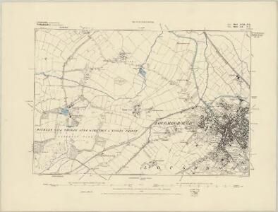 Leicestershire XVII.NW - OS Six-Inch Map
