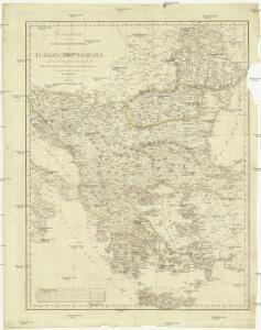Generalcharte von dem europaeischen Theil des Türkischen Reiches