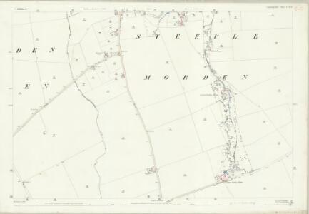 Cambridgeshire LVII.11 (includes: Guilden Morden; Steeple Morden) - 25 Inch Map