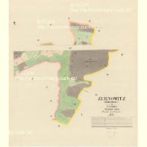Zernowitz (Zernowice) - c9414-1-003 - Kaiserpflichtexemplar der Landkarten des stabilen Katasters