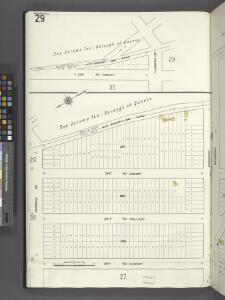 Queens V. 2, Plate No. 29 [Map bounded by 21st Ave., Broadway, 19th Ave., Jamaica Ave.]