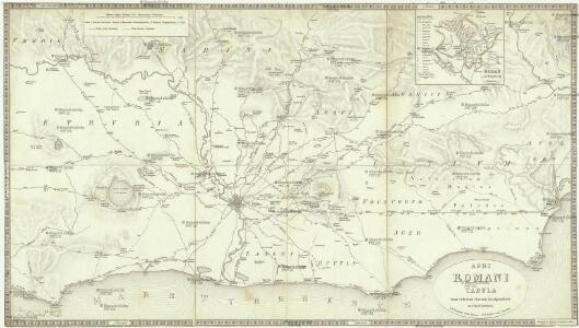 Agri Romani tabula cum veterum viarum designatione accuratissima