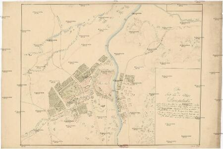 Plan der Stadt und des Schlosses Banjaluka
