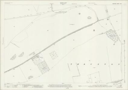 Hampshire and Isle of Wight XXII.8 (includes: Amport; Kimpton; Shipton Bellinger; Thruxton) - 25 Inch Map