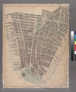 Sheet 3: [Bounded by Reade Street, Nassau Street, Pearl Street, Chatham Street, Oliver Street, (Pier Line) South Street, (Battery) State Street, Battery Place and West Street.]