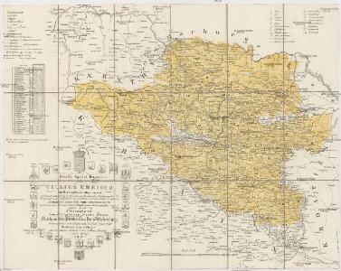 Neueste special Karte des Cillier Kreises im Herzogthume Steyermark