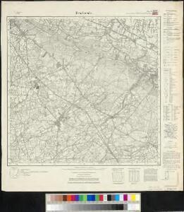 Meßtischblatt 2219, neue Nr. 4017 : Brackwede, 1937