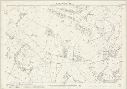 Herefordshire XXXI.8 (includes: Bredwardine; Llangernyw) - 25 Inch Map