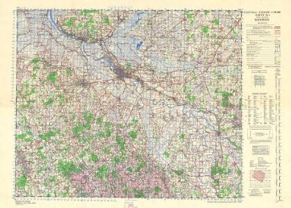 Central Europe 1:1,000,000, Bremen