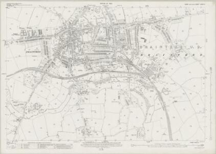 Essex (New Series 1913-) n XXXV.5 (includes: Braintree and Bocking) - 25 Inch Map
