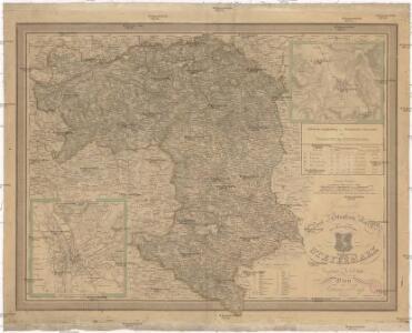 General Post und Strassen Karte des Herzogthums Steyermark