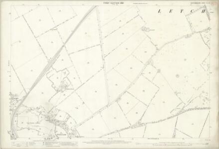 Hertfordshire VII.14 (includes: Hitchin Urban; Letchworth; Wymondley) - 25 Inch Map