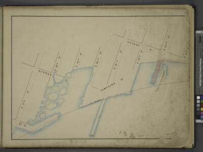 [Map bounded by Avenue B, Avenue A, E. 24th St,       Bulkhead Line, E. 17th St; Including Avenue C, Tompkins St, E. 18th St, E. 19th  St, E. 20th St, E. 21st St, E. 22nd St, E. 23rd St, Ferry to Greenpoint]