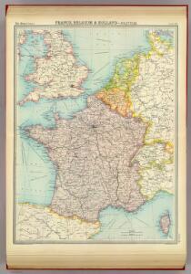 France, Belgium & Holland - political.