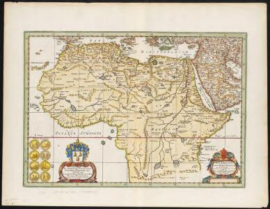 Africae antiquae, et quarundam Europae, Asiaeque adiacentium regionum