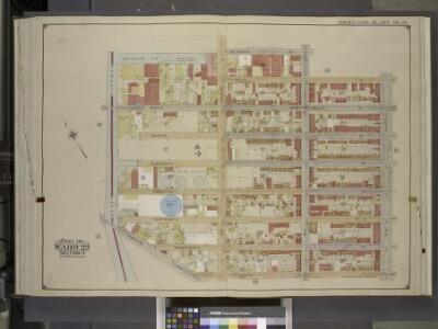 Brooklyn, Vol. 1, Double page Plate No. 24; Part of   Wards 22, Section 4; [Map bounded by 7th St., 8th St., 4th Ave.; Including  15th St., Hamilton Ave., Gowanus Canal]