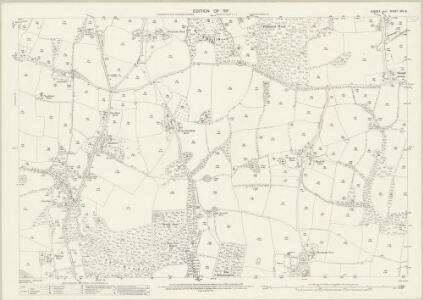 Sussex XXV.8 (includes: Bolney; Cuckfield Rural) - 25 Inch Map