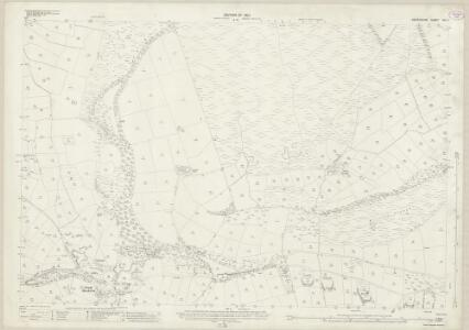 Derbyshire XVI.2 (includes: Abney and Abney Grange; Eyam; Foolow; Great Hucklow; Grindlow; Hazlebadge) - 25 Inch Map