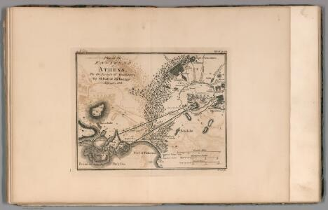 Plan of the environs of Athens. No. 8