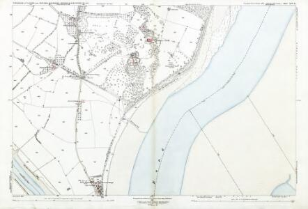 Gloucestershire LIV.15 (includes: Aust; Chepstow; Tidenham) - 25 Inch Map
