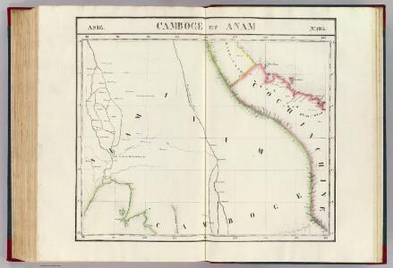 Camboge et Anam. Asie 105.