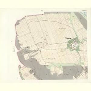 Trzimann (Třiman) - c8078-1-002 - Kaiserpflichtexemplar der Landkarten des stabilen Katasters