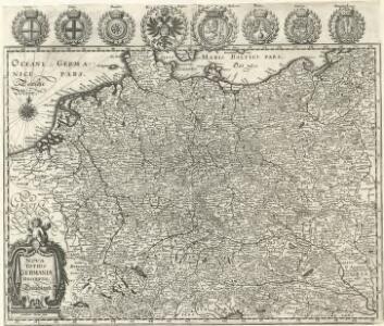Nova totius Germaniae Descriptio Teütschland