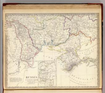 Russia in Europe Part VIII with index map.